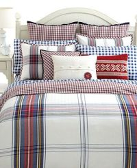 Tommy Hilfiger Bedding, Tartan Full/Queen Duvet Cover Set