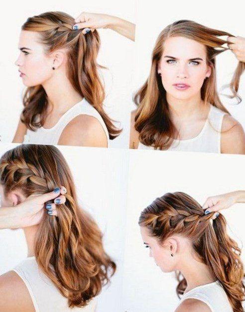 Leichte Frisuren Zum Selber Machen Stylehaare Info 5