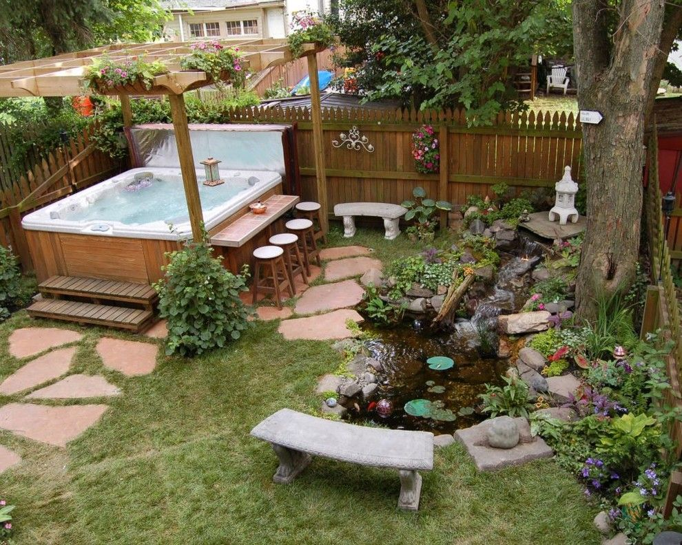 Hot Tub Enclosure Ideas Pool Traditional With Above Ground Pool