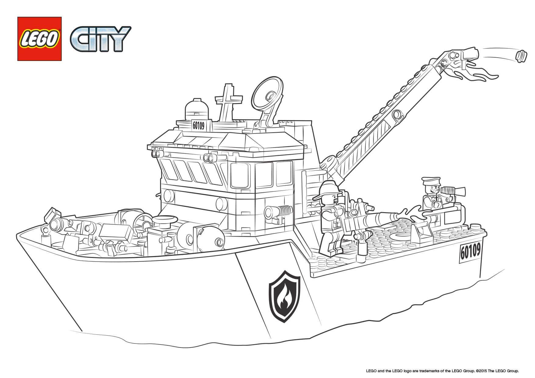 lego city feuerwehr ausmalbilder 842 Malvorlage Lego