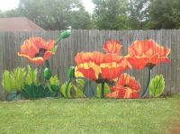 Flower fence for a great addition to your yard ...