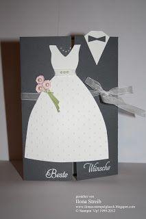 Stempelglck Hochzeitskarte  wedding  Pinterest
