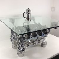 """Related Post """"Unique V8 Engine Block Coffee Table""""   Life ..."""