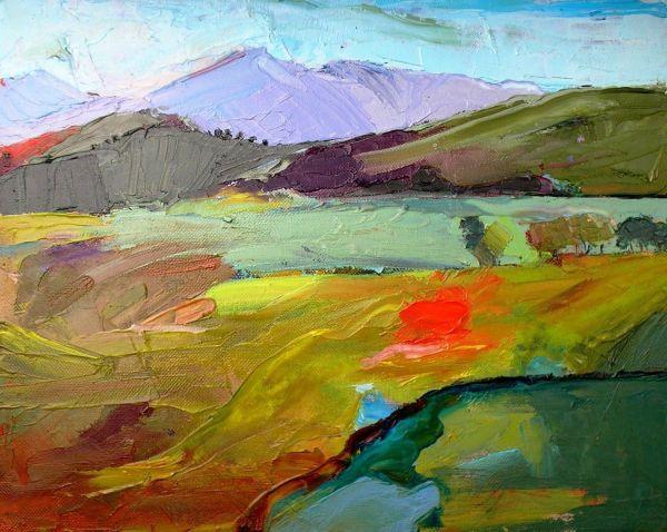 Contemporary Landscape Paintings Famous Artists
