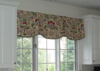 valances | Kitchen Scalloped Valance by Sue Sampson a ...