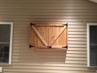 "Downright Simple: Outdoor TV Cabinet for 50"" TV. Box Frame ..."