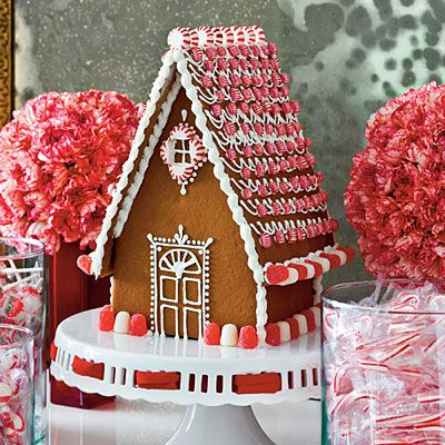Make It Merry & Bright White Gingerbread House House Trim And
