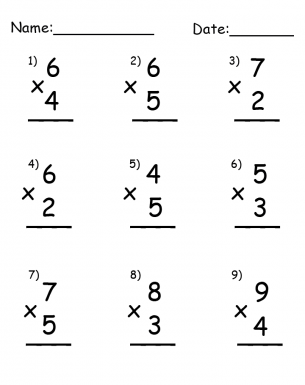 Free multiplication worksheets. Repin and share the #