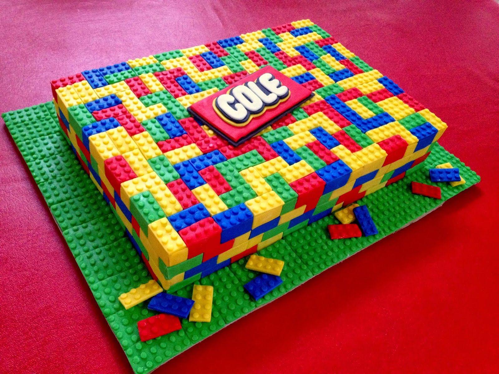 Cake Talk How To Make A Lego Cake