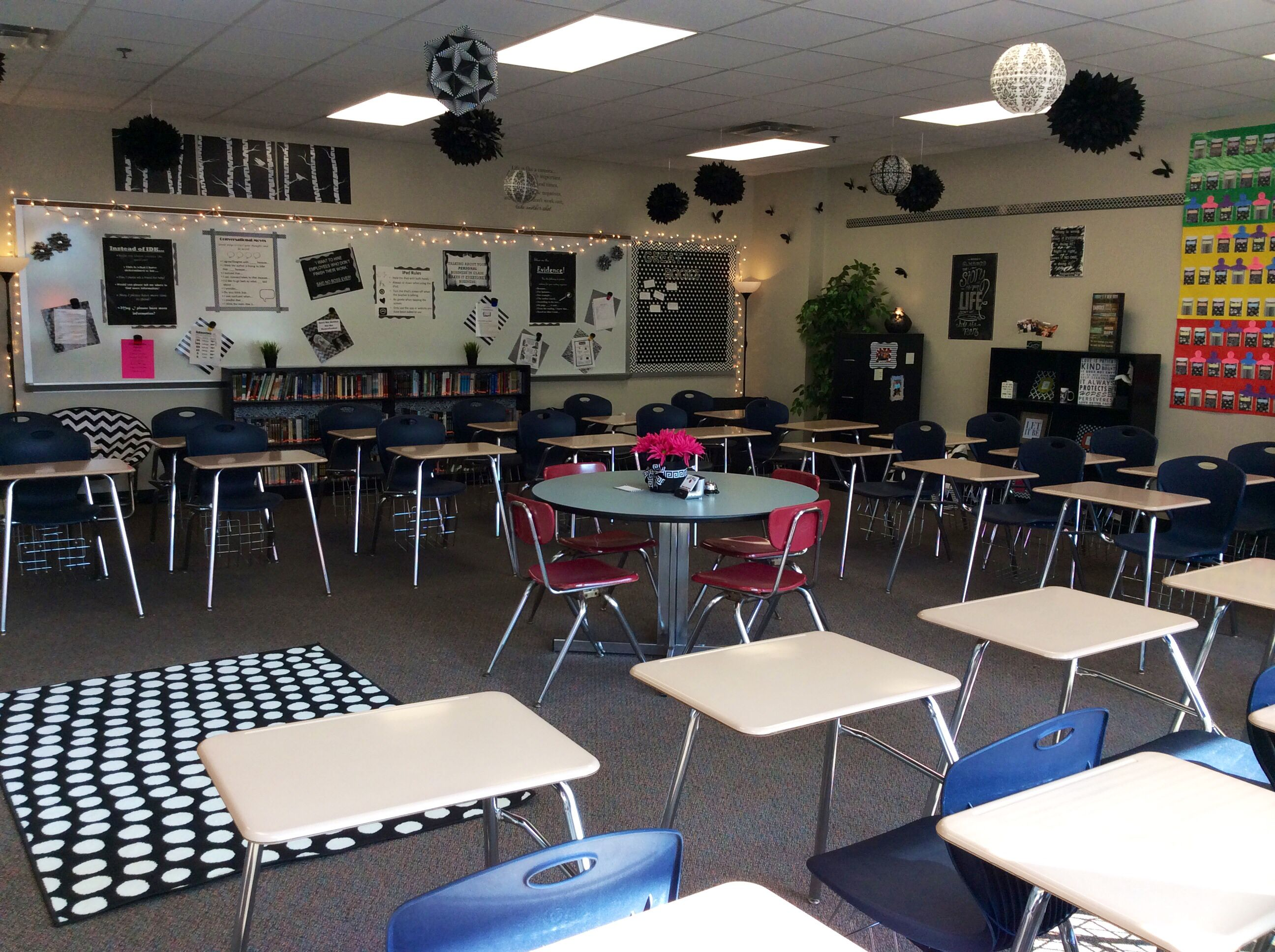 u shaped chair arrangement covers hire wholesale my black and white classroom has been so much fun this