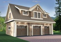 3 Car Garage with Apartment Plans