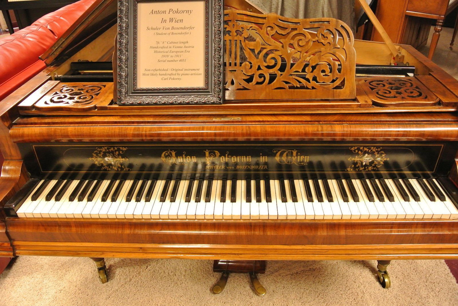 Kawai Concert Grand Piano Electric