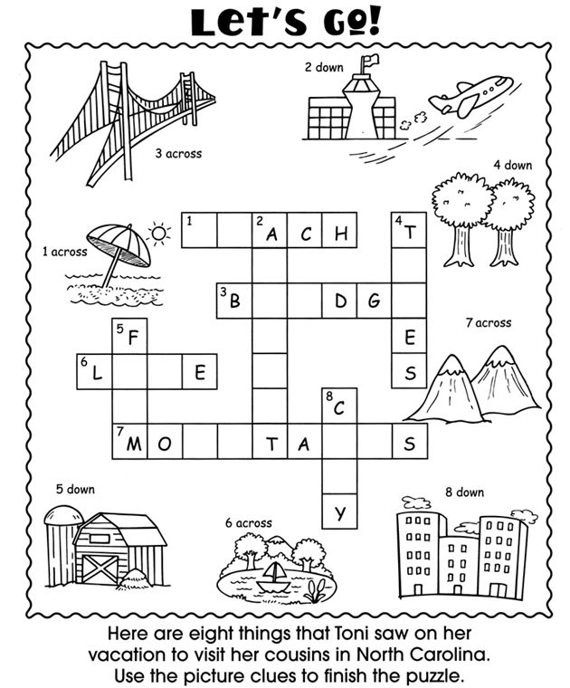 Educational Materials Activity Books Coloring And Puzzlers