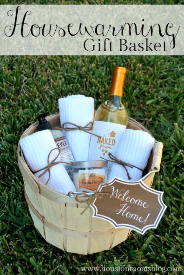 DIY Housewarming Gifts DIY Housewarming Gift Basket Best Do It