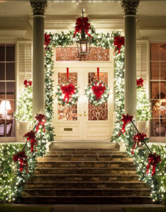 It   beginning to look  lot like christmas toys in every store and the prettiest sight see is holly that will be on your own front door also pin by terry  curb appeal pinterest rh