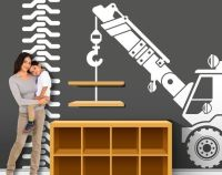 Construction Truck Decorations - Construction Wall Decor ...