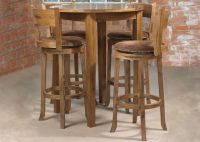 Kitchen Dining Sets Mark Webster Cordoba Round Pub Table 4 ...