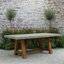Concrete Outdoor Furniture Ideas