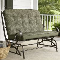 Jaclyn Smith Cora Cushion Double Glider - Outdoor Living ...