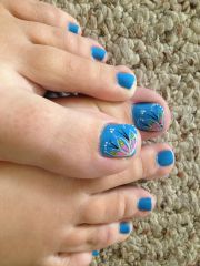 cute toenail design diy