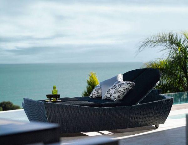 rattan lounge bett expormin kissen pool mobel - boisholz, Gartenarbeit ideen