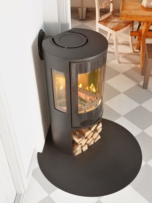 Wood burning stove Contura 556 Style. Available in black