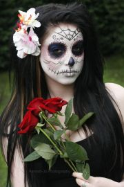 day of dead hair styles
