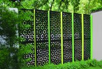 Backyard Privacy Screens Decorative Metal Outdoor Privacy ...