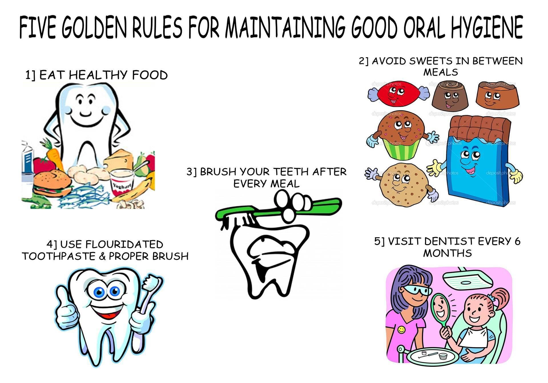 Five Golden Rules For Maintaining Good Oral Hygiene