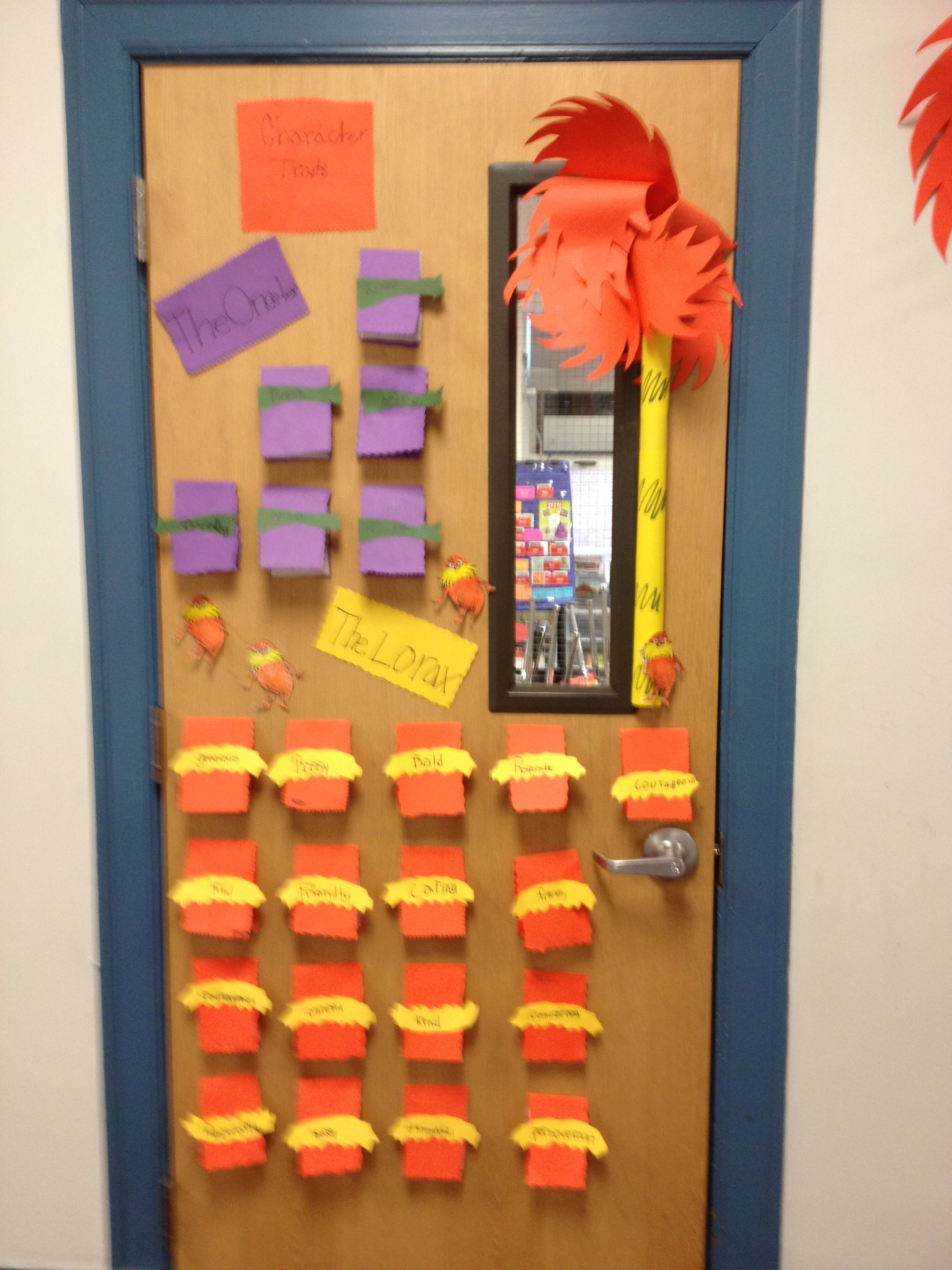 Third Grade Dr Seuss Day Activity The Lorax And The Once Ler Character Traits Flip The Page