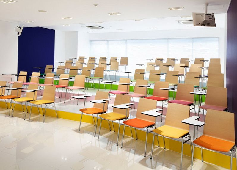 Colourful School In Japan HomeKlondike Com Home Interior