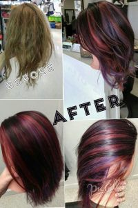 Pinwheel hair color technique - 3 colors | Hair ...
