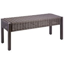 Echo Beach Dining Bench - Latte Outdoor