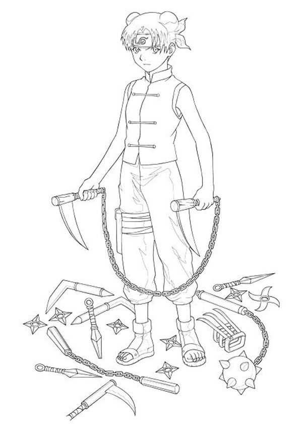 Dibujo Naruto Uzumaki Para Colorear