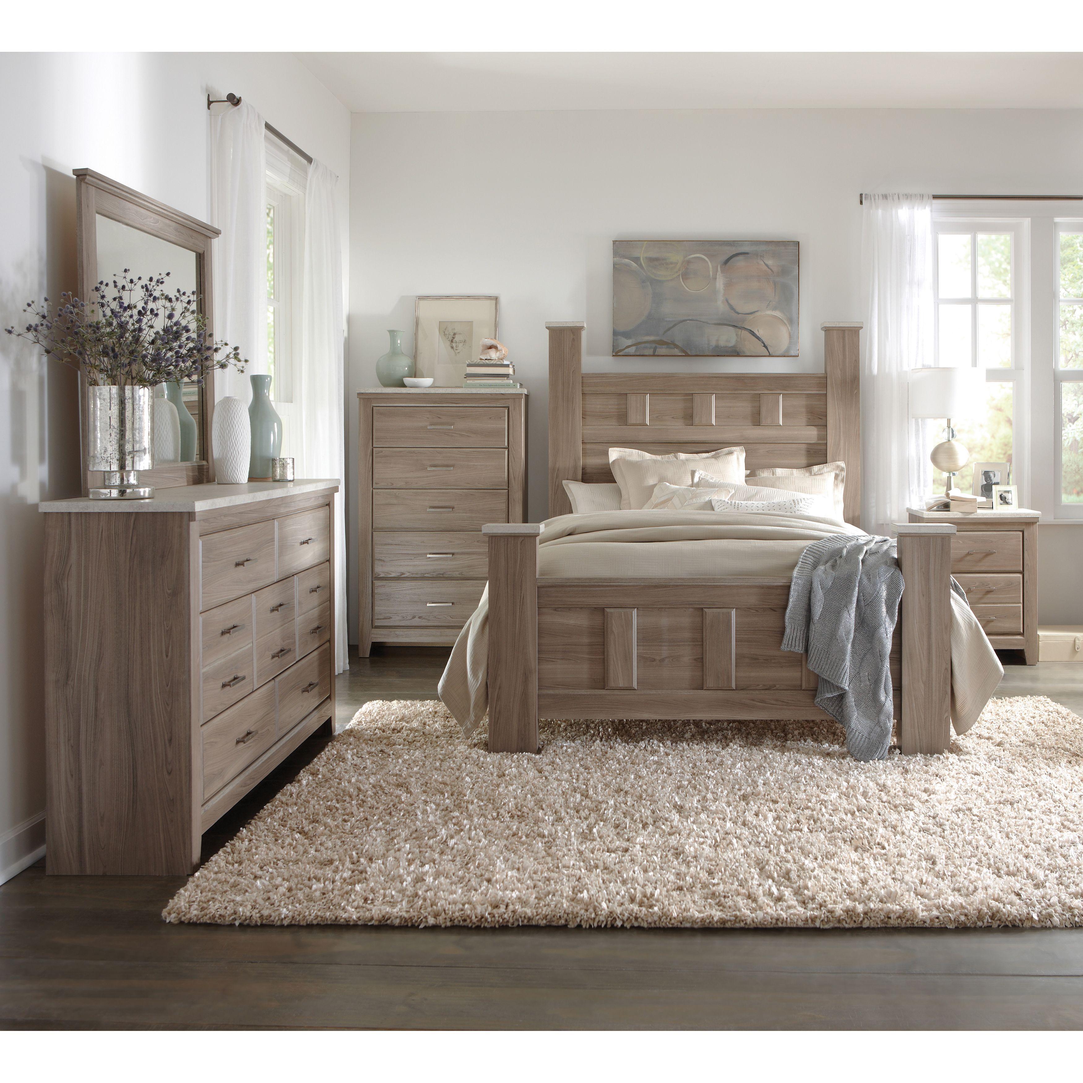 Art Van 6piece Queen Bedroom Set  Overstock Shopping
