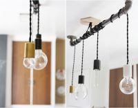 pendant hanging from pipe | So there you have it, a simple ...