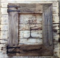 Image of: Simple Rustic Picture Frames | Diy | Pinterest ...