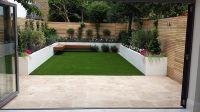 modern urban low mainteance garden design balham clapham ...