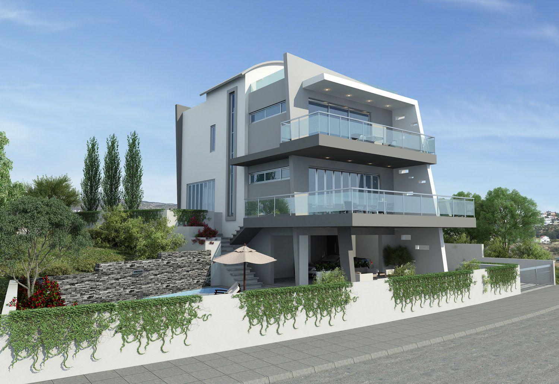 Modern Stylish Latest Homes Exterior Designs Cyprus House Plan 5