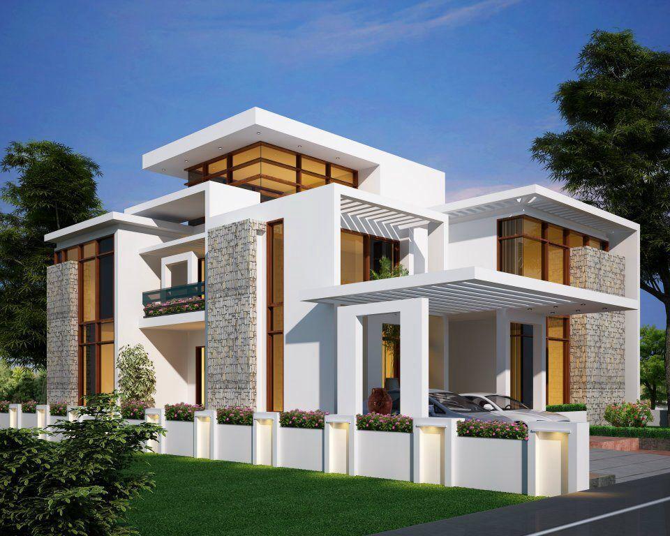 Modern Contemporary House Mix Luxury Home Design Kerala Home
