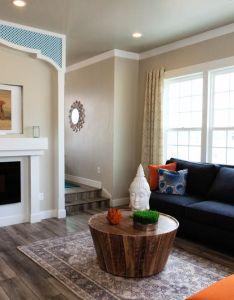Living room decor ideas custom home designs utah homebuilder holmes homes also rh pinterest
