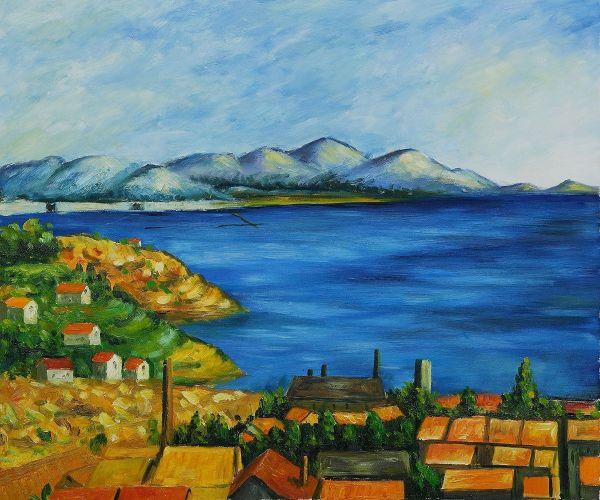 Paul Cezanne Landscape Paintings