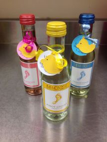 Baby Shower Favors Mini Wine Bottle