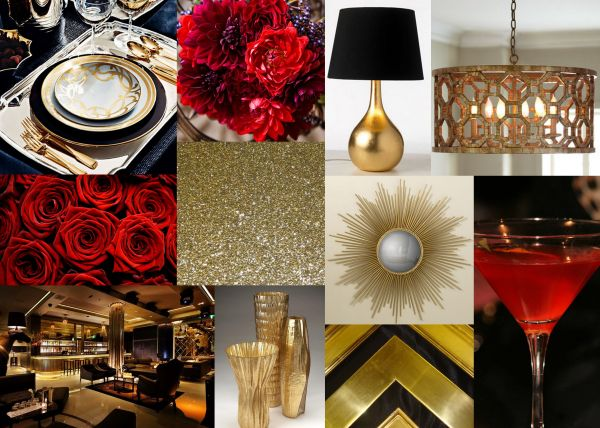 Red Gold Color Combinations - Year of Clean Water