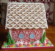 Redhouse4 Gingerbread