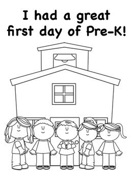 Enjoy these free coloring pages for your Pre-K students on