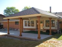 covered patio addition | ... of our wood, aluminum and ...