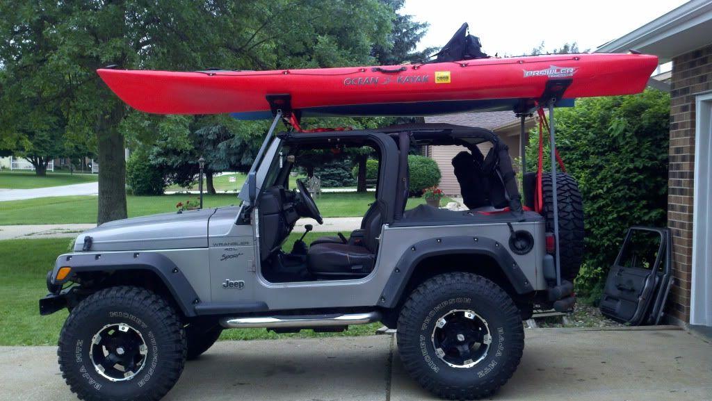Kayak Rack for a Soft Top