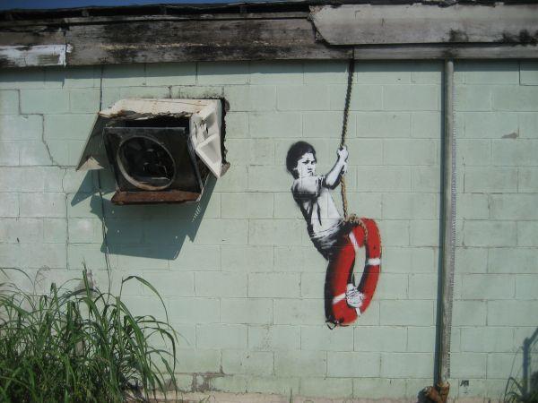 Banksy Graffiti New Orleans