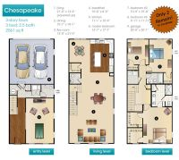 New Construction Townhouse Floor Plans
